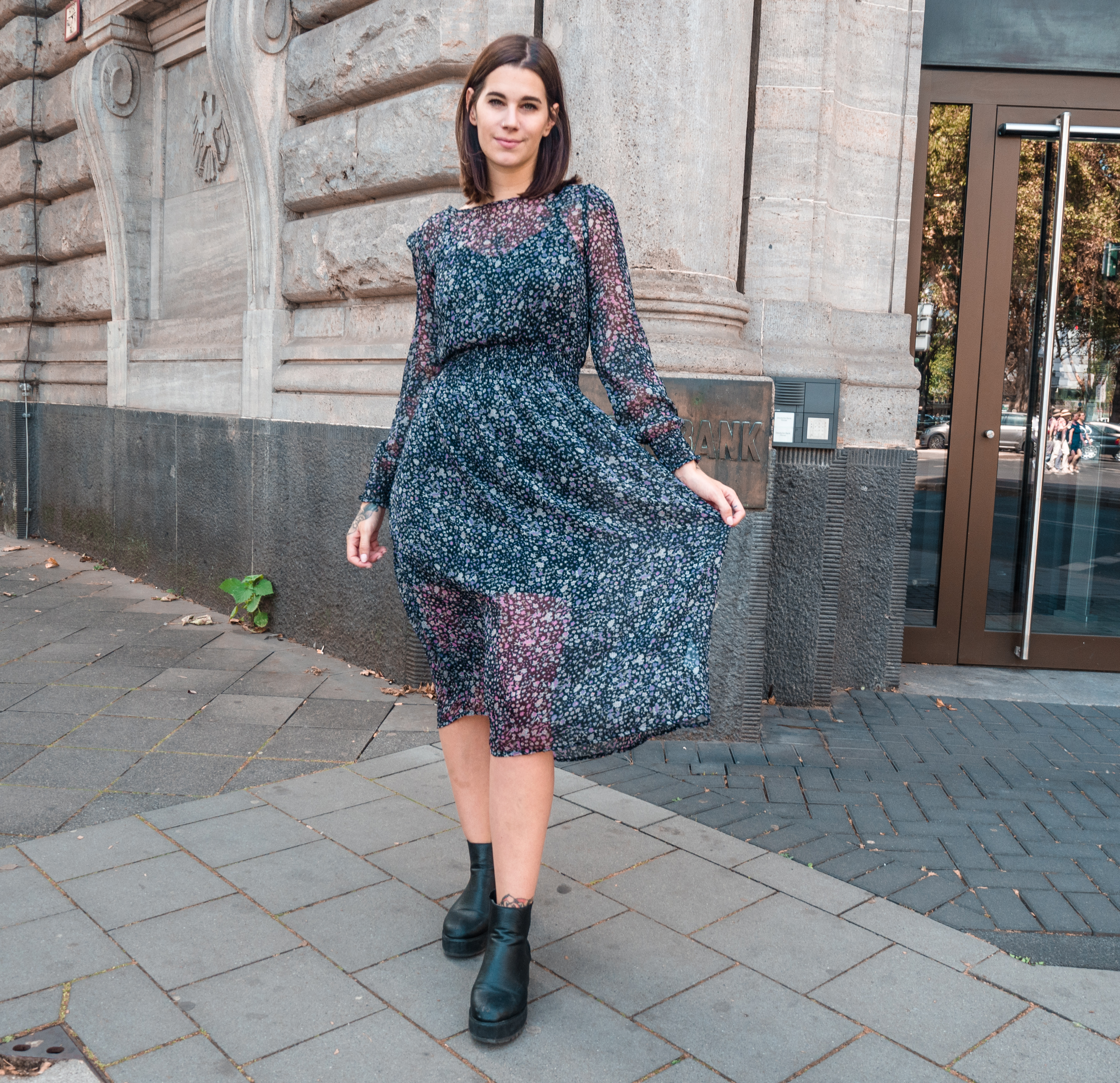 lovely na-kd dress – the grunge fashion